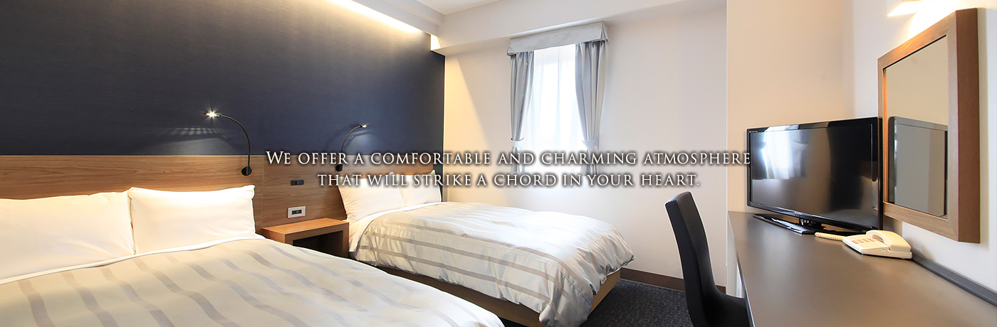 We offer a comfortable and charming atmosphere that will strike a chord in your heart.